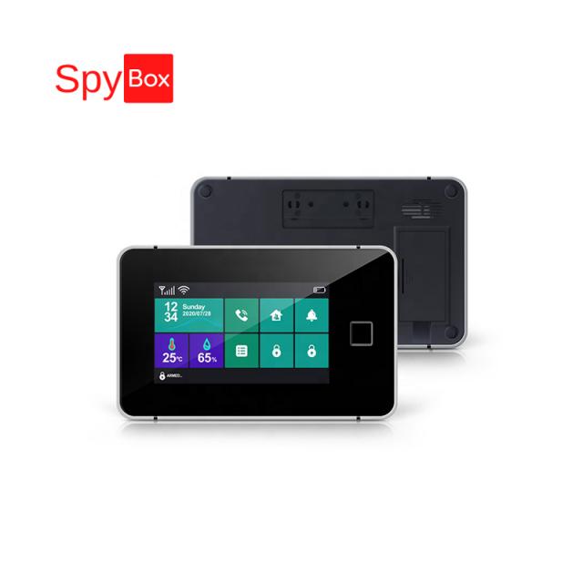 Smart WiFi Fingerprint GSM Alarm System