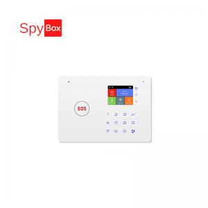 GSM LCD WiFi Home Alarm System with IP Camera