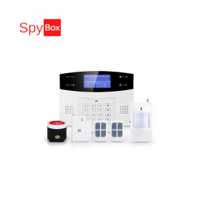 PSTN & GSM Home Alarm System