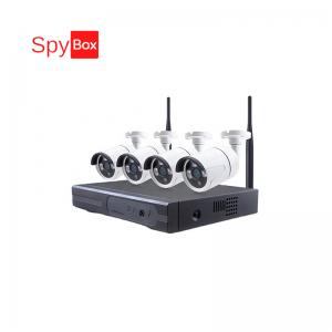 Smart 2.0MP WiFi Waterproof IP Camera Kit