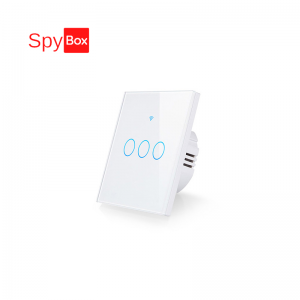 Smart 3CH WIFI EU (86x86x33mm)Touch Switch with RF 433Mhz