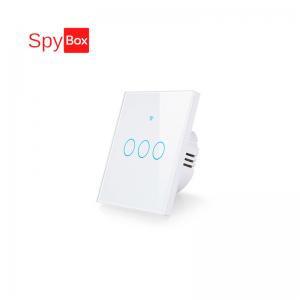 Smart 3CH WIFI EU (86x86x33mm)Touch Switch with RF 433Mhz