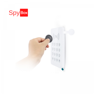 Wireless RFID Keypad with Low Battery Alert Function